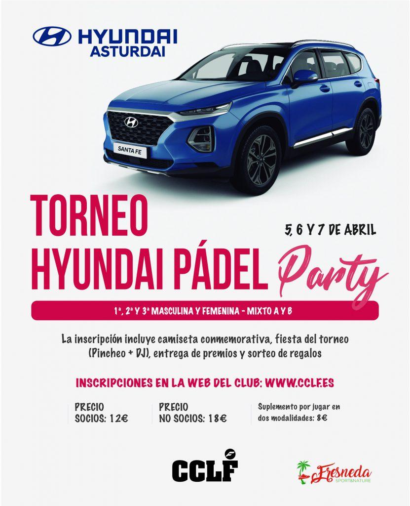 Torneo Hyundai Padel abril 2019