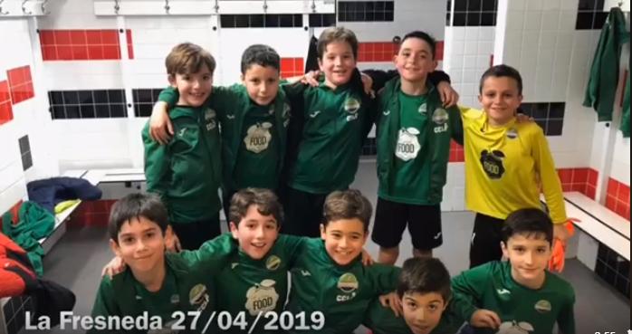 El equipo de Benjamines A del Club consigue el ascenso a 2ª división