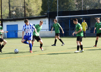 partido futbol club de campo la fresneda