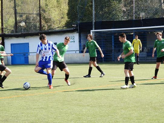 Resultados e imágenes de los equipos de fútbol (30/31 de marzo)