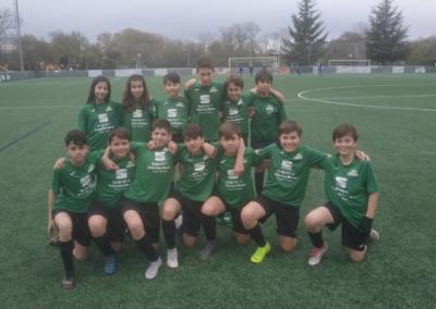 infantil club de campo la fresneda futbol