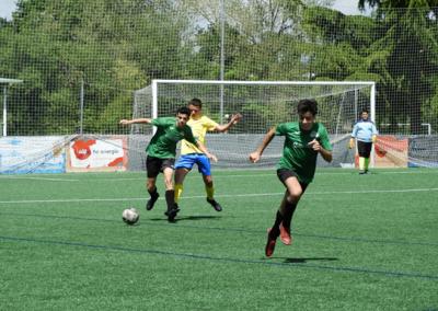 """Cadete contra San Claudio """"C"""" club de campo la fresneda"""