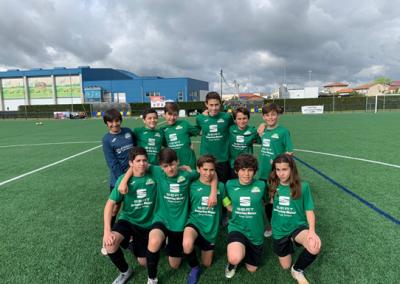 "Infantil ""A"" contra Berrón club de campo la fresneda"