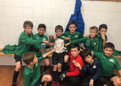 """Benjamín """"B"""" contra Condal """"B"""" club de campo la fresneda"""