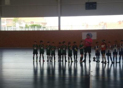 """Prebenjamín """"A"""" contra Real Avilés club de campo la fresneda"""