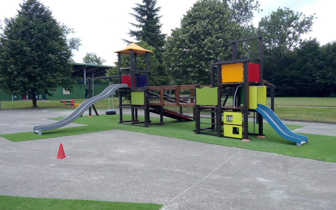 ¡Ya está abierto el nuevo parque infantil!