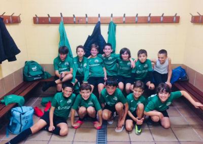 Alevin contra Juventud Estadio B