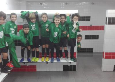 Prebenjamin A contra Juventud Estadio C