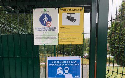 Información importante sobre el uso de mascarillas en las instalaciones del Club