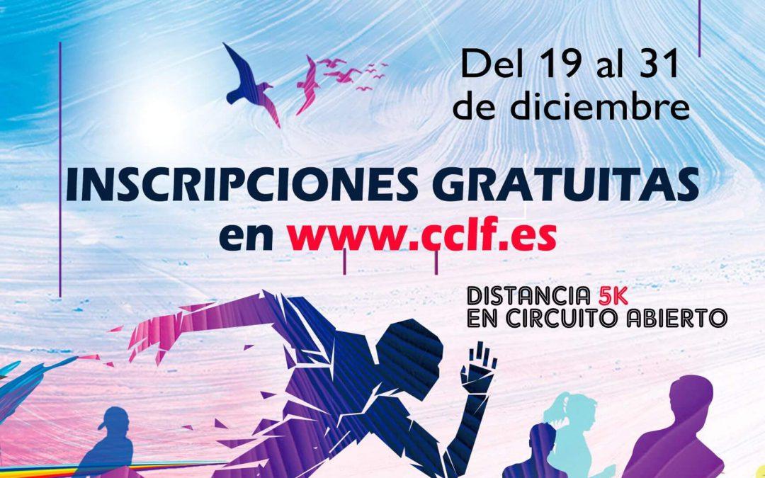 ¡Participa en la San Silvestre virtual CCLF! ¡Ya están abiertas las inscripciones!