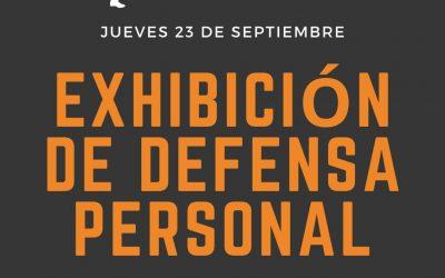 Exhibición de defensa personal: ven a descubrir la nueva actividad indoor del Club